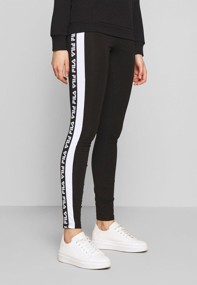 Fila Tall - TASYA - Leggings - Trousers - black/bright white