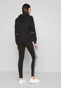 Fila Tall - TASYA - Leggings - Trousers - black/bright white - 2