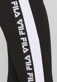 Fila Tall - TASYA - Leggings - Trousers - black/bright white - 3