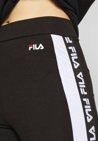 Fila Tall - TASYA - Leggings - Trousers - black/bright white - 5