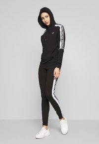 Fila Tall - TASYA - Leggings - Trousers - black/bright white - 1