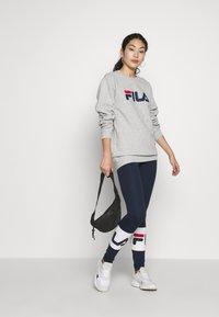 Fila Tall - BALLARI - Leggings - Trousers - black iris/bright white - 1