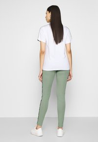 Fila Tall - TASYA - Leggings - Trousers - sea spray/bright white - 2