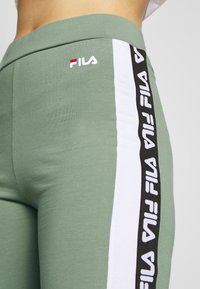 Fila Tall - TASYA - Leggings - Trousers - sea spray/bright white - 5