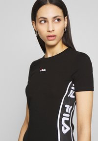 Fila Tall - TANIEL TEE DRESS TIGHT FIT - Vestido de tubo - black - 5