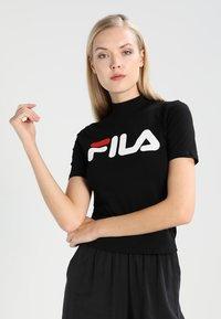 Fila Tall - EVERY TURTLE  - Camiseta estampada - black - 0