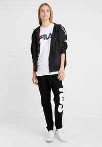 Fila Tall - PURE SLEEVE - T-shirts print - bright white - 1