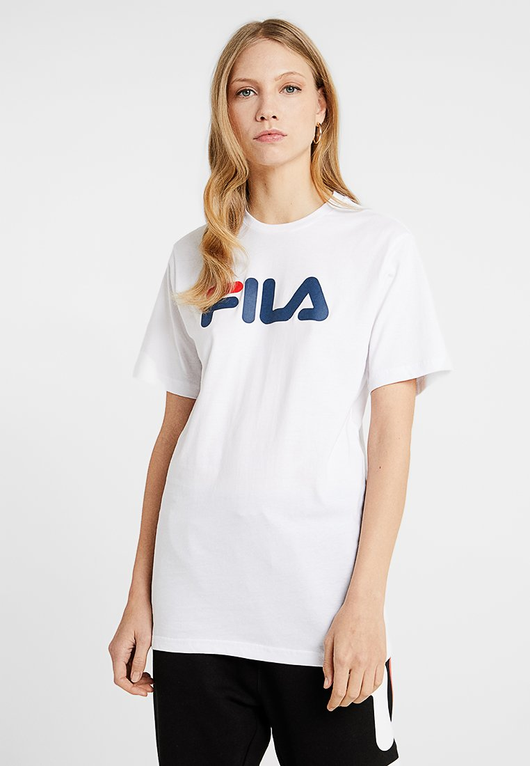 Fila Tall - PURE SLEEVE - T-shirts print - bright white