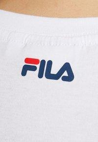 Fila Tall - PURE SLEEVE - T-shirts print - bright white - 5