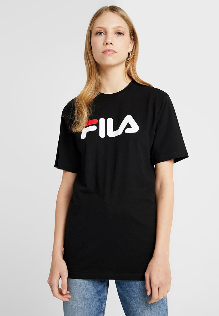 Fila Tall - PURE SLEEVE - T-shirts print - black