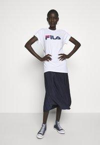 Fila Tall - PURE TEE - Print T-shirt -  bright white - 1