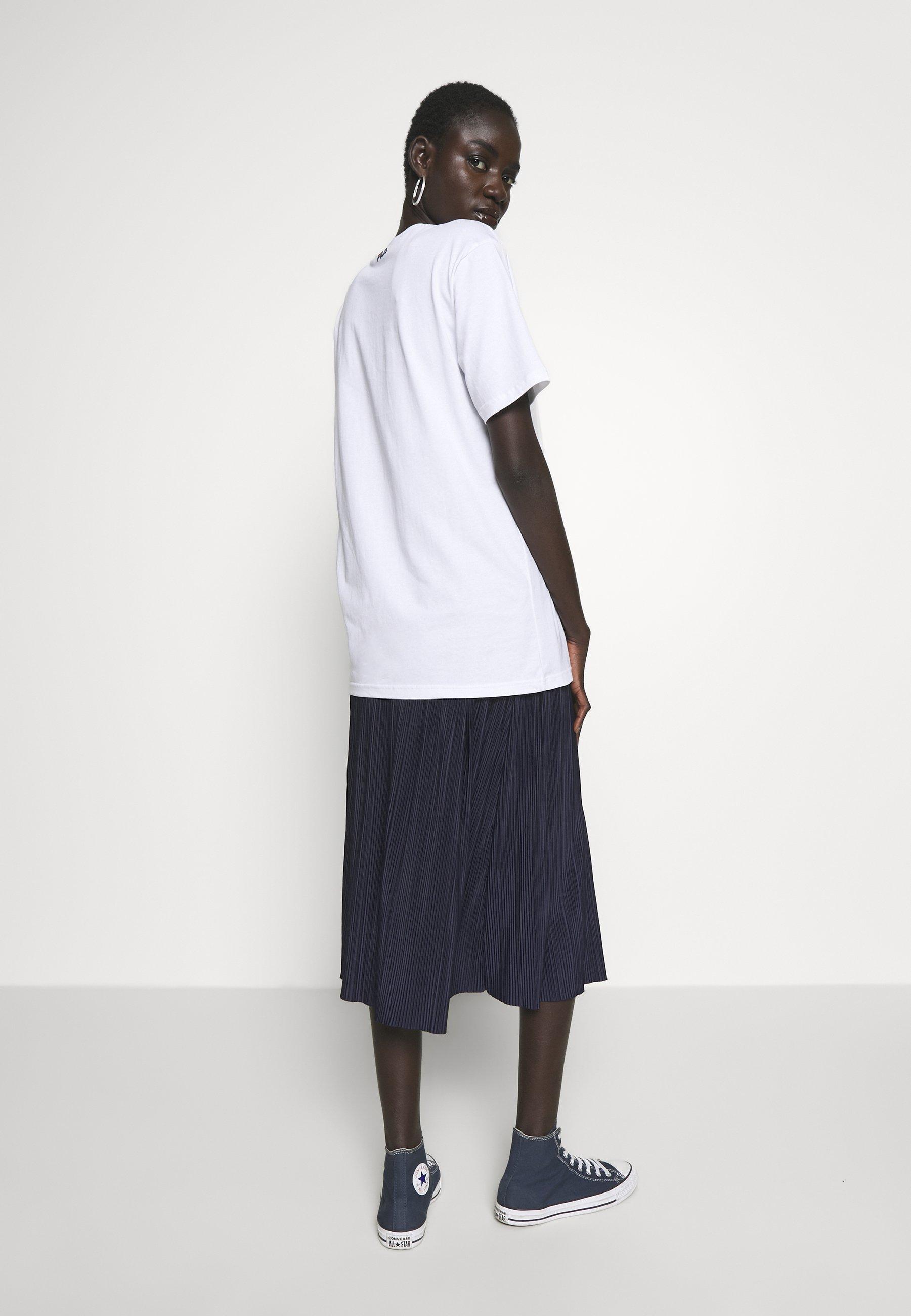 Fila Tall PURE TEE - T-shirts med print -  bright white