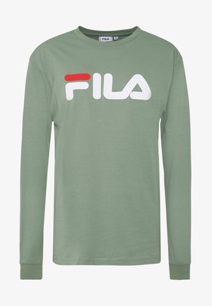 PURE LONG SLEEVE SHIRT - Long sleeved top - sea spray