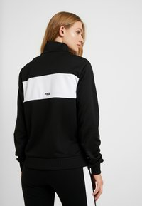 Fila Tall - BRONTE TRACK JACKET - Training jacket - black/bright white - 2