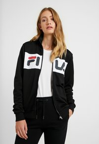Fila Tall - BRONTE TRACK JACKET - Training jacket - black/bright white - 0