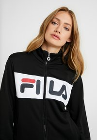 Fila Tall - BRONTE TRACK JACKET - Training jacket - black/bright white - 4