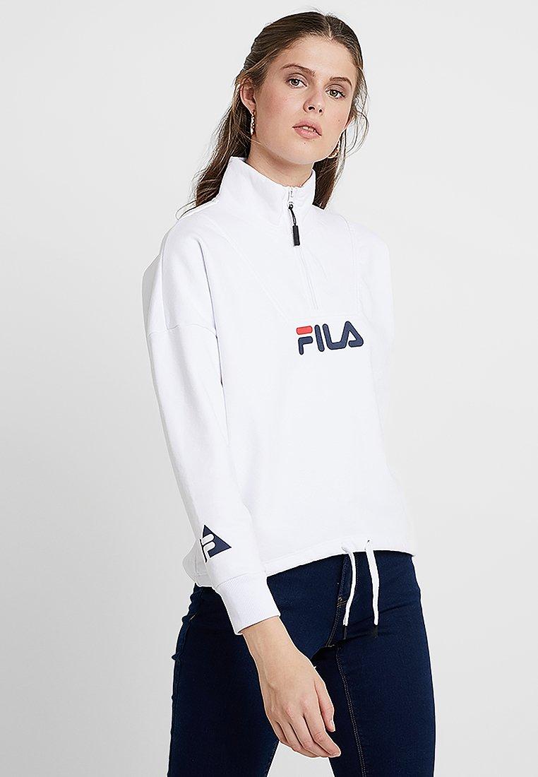 Fila Tall - SYLVIA HALF ZIP - Sweatshirt - bright white