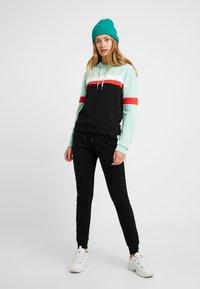 Fila Tall - ELLA HOODY - Hoodie - mist green/black/bright white/true red - 1