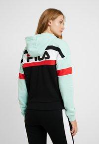 Fila Tall - ELLA HOODY - Hoodie - mist green/black/bright white/true red - 2