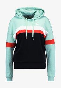 Fila Tall - ELLA HOODY - Hoodie - mist green/black/bright white/true red - 3