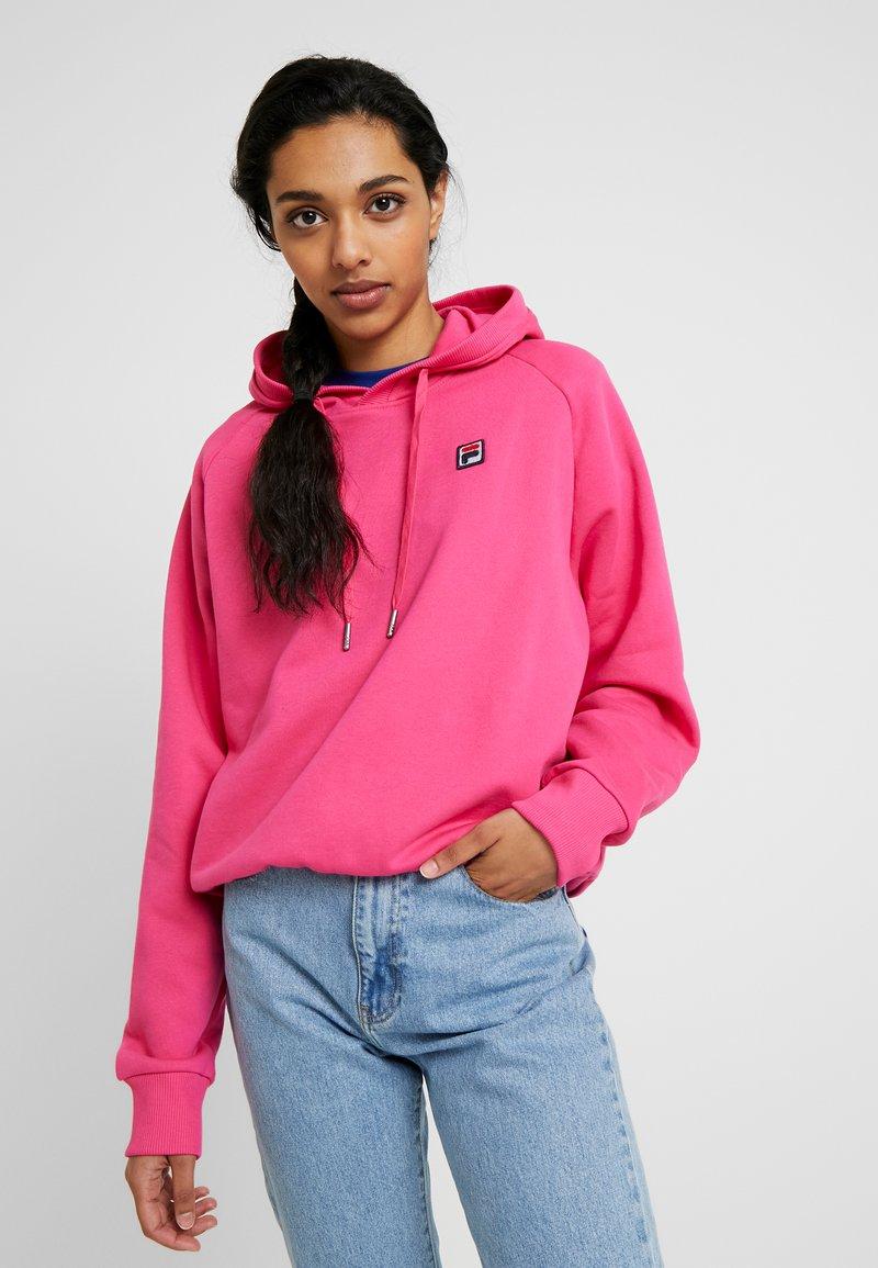 Fila Tall - FLORESHA HOODY - Hoodie - pink yarrow