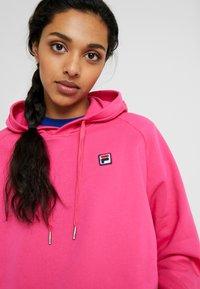 Fila Tall - FLORESHA HOODY - Hoodie - pink yarrow - 3