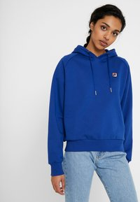 Fila Tall - FLORESHA HOODY - Jersey con capucha - sodalite blue - 0