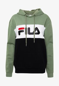 Fila Tall - LORI HOODY - Hoodie - sea spray/black/bright white - 5