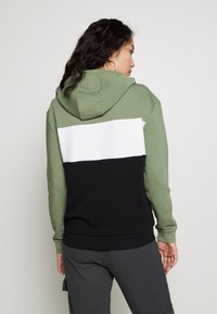 Fila Tall - LORI HOODY - Hoodie - sea spray/black/bright white - 2