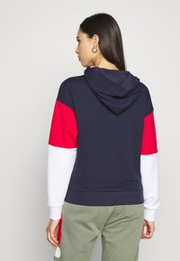 Fila Tall - BARRET CROPPED HOODY - Jersey con capucha - dark blue - 2