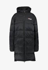 Fila Tall - BRONWED PUFF HOOD - Zimní kabát - black - 3