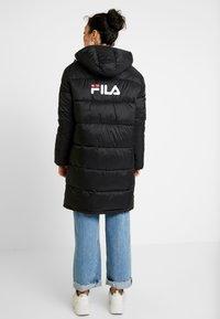 Fila Tall - BRONWED PUFF HOOD - Zimní kabát - black - 2