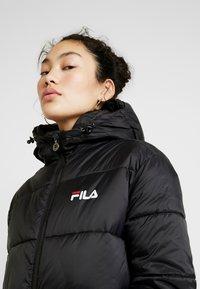 Fila Tall - BRONWED PUFF HOOD - Zimní kabát - black - 4