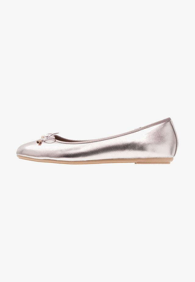 STEFFI - Ballet pumps - pewter