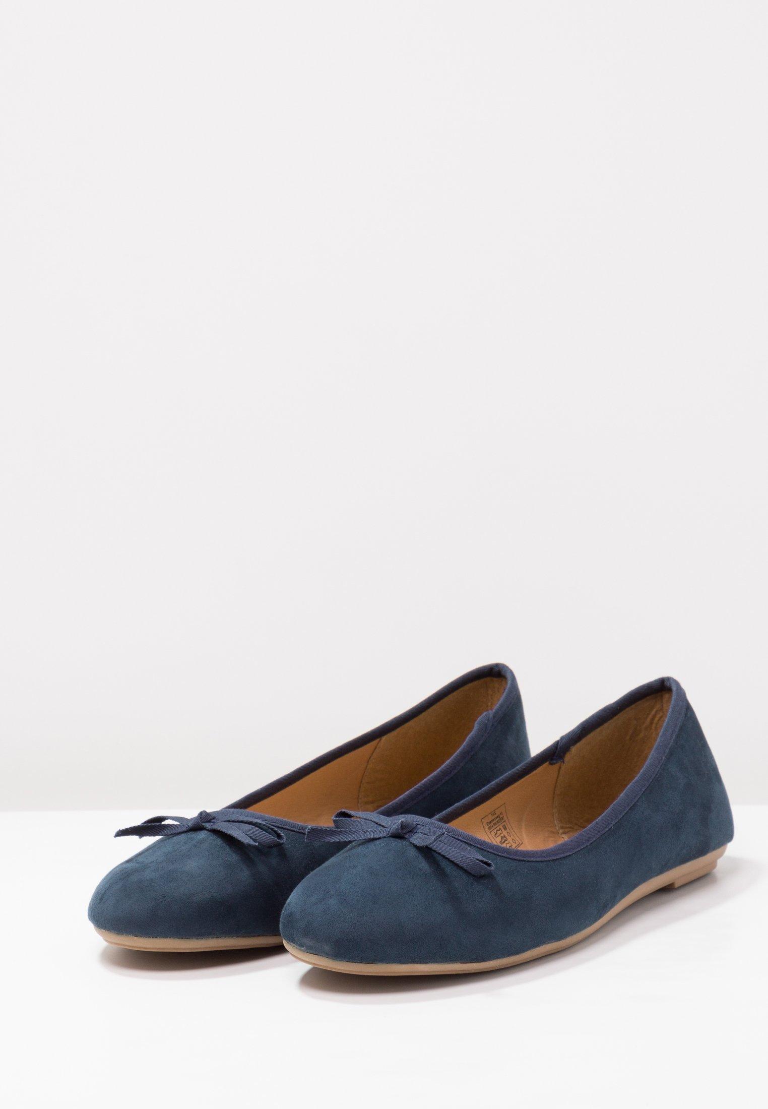 Fitters Helen - Ballerinaskor Navy