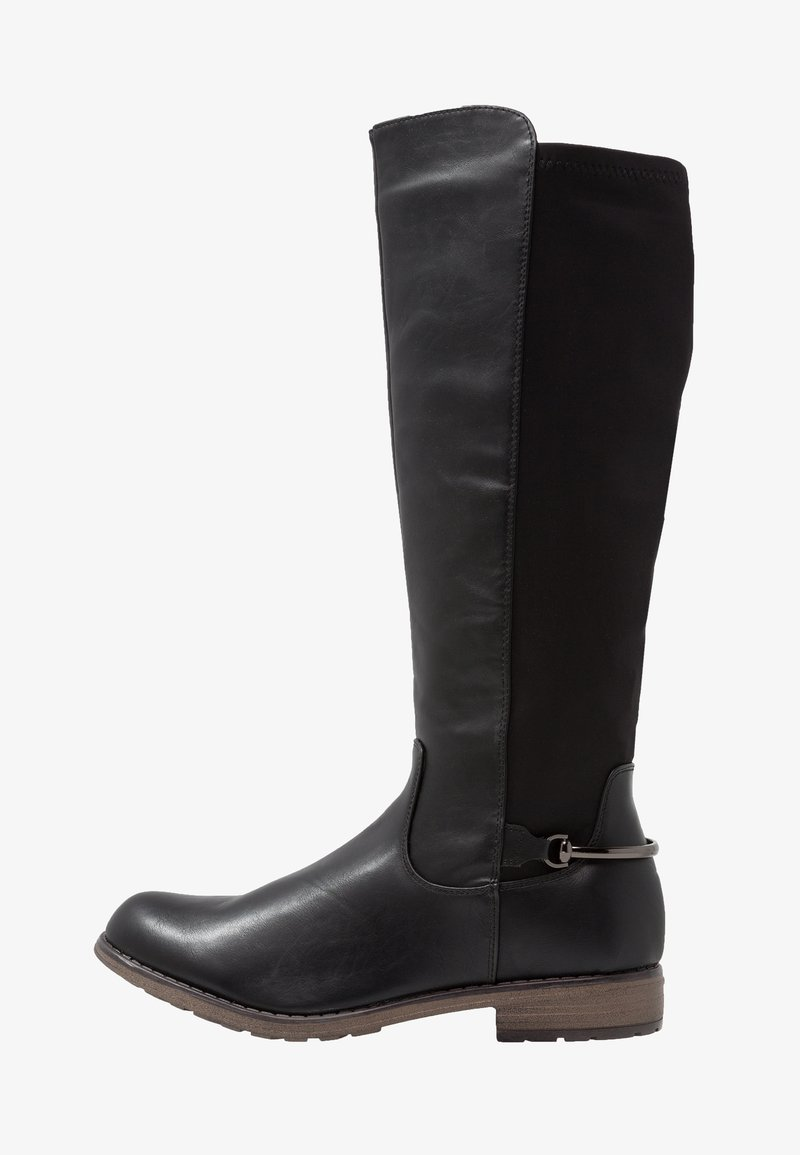 Fitters - MAJA - Stivali alti - black