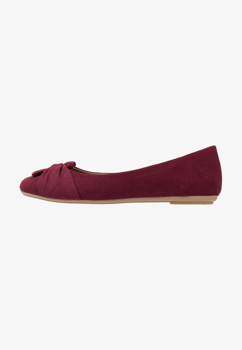 Fitters - MAIKE - Ballet pumps - burgundy