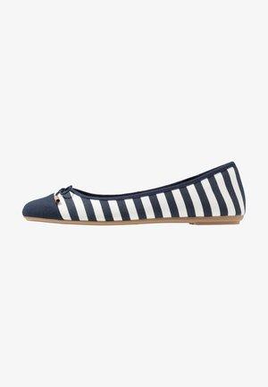 GRACE - Ballet pumps - navy/white