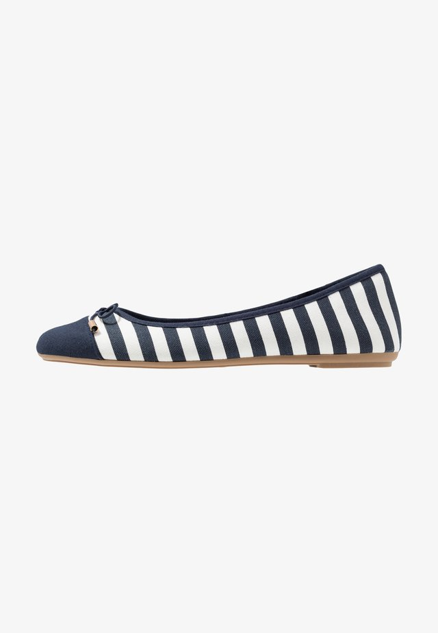GRACE - Ballet pumps - navy/white