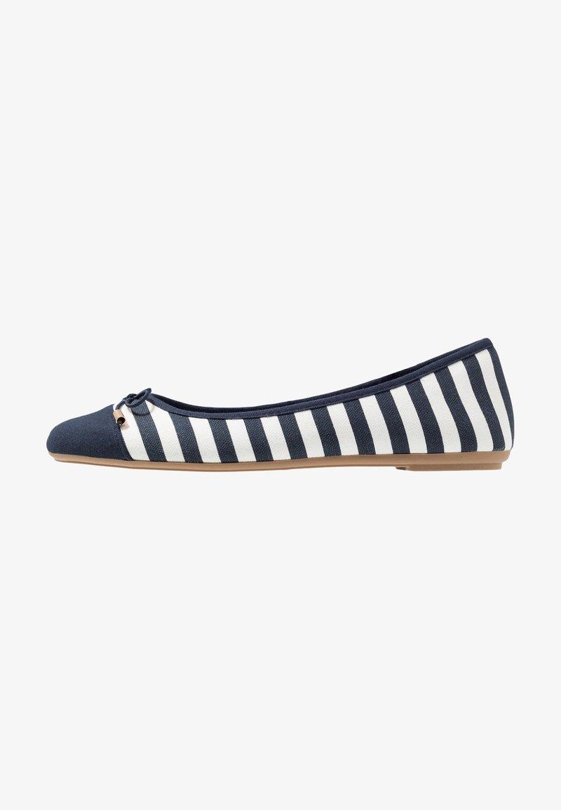 Fitters - GRACE - Ballet pumps - navy/white
