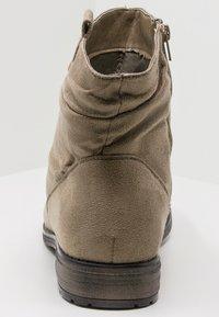 Fitters - KATE - Kotníkové boty - taupe - 3