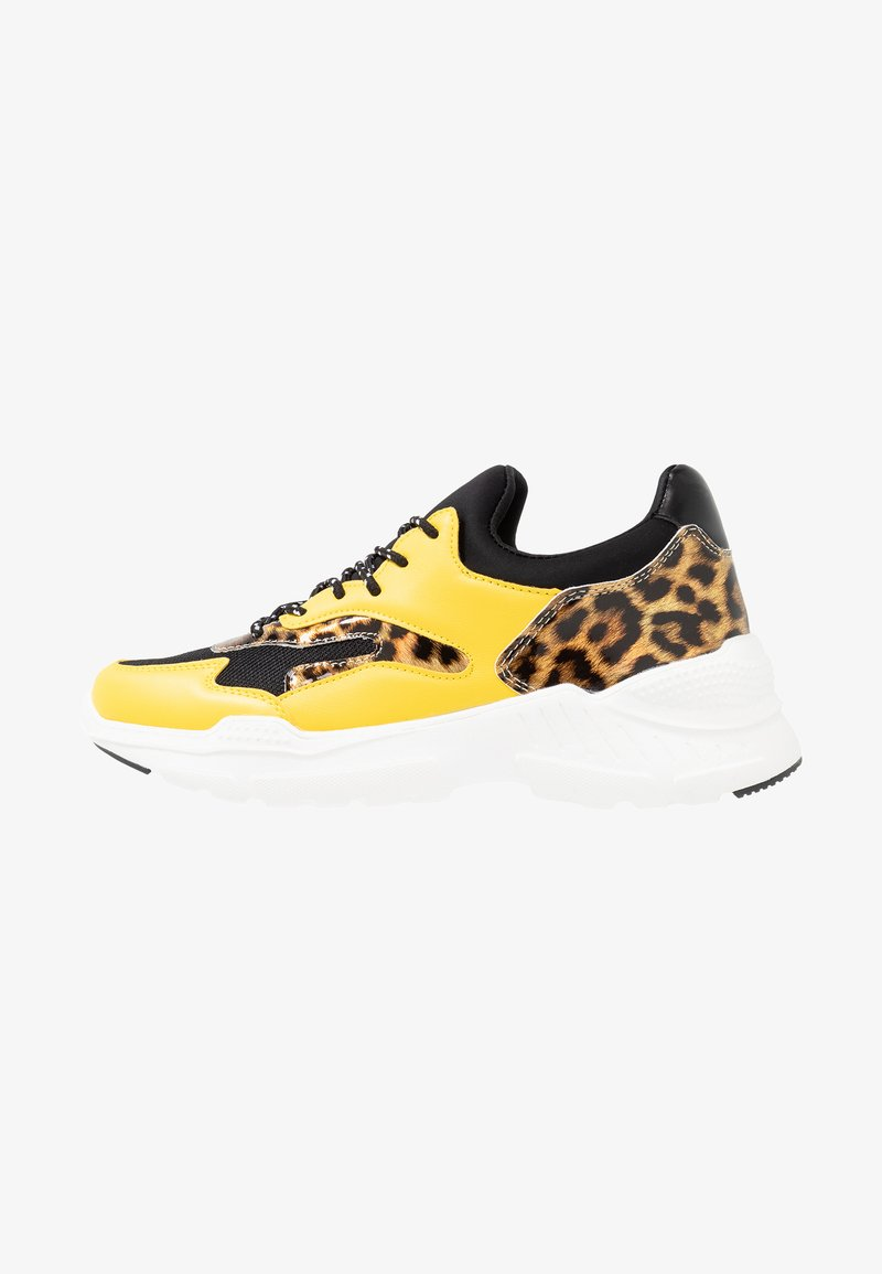 Fitters - MADELEINE - Sneakers - yellow/black