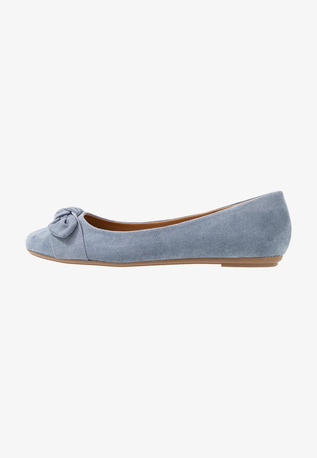 CLAIRE - Ballet pumps - blue