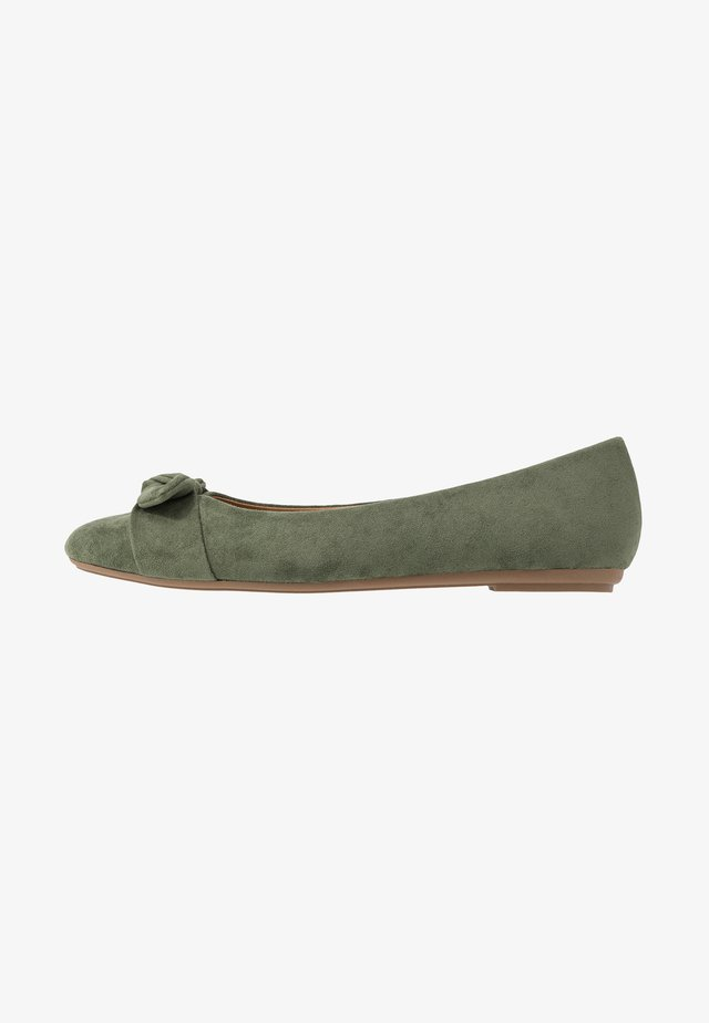 CLAIRE - Ballet pumps - green