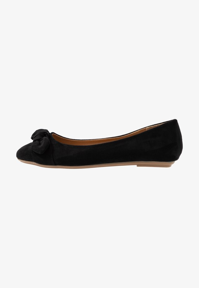 CLAIRE - Ballet pumps - black