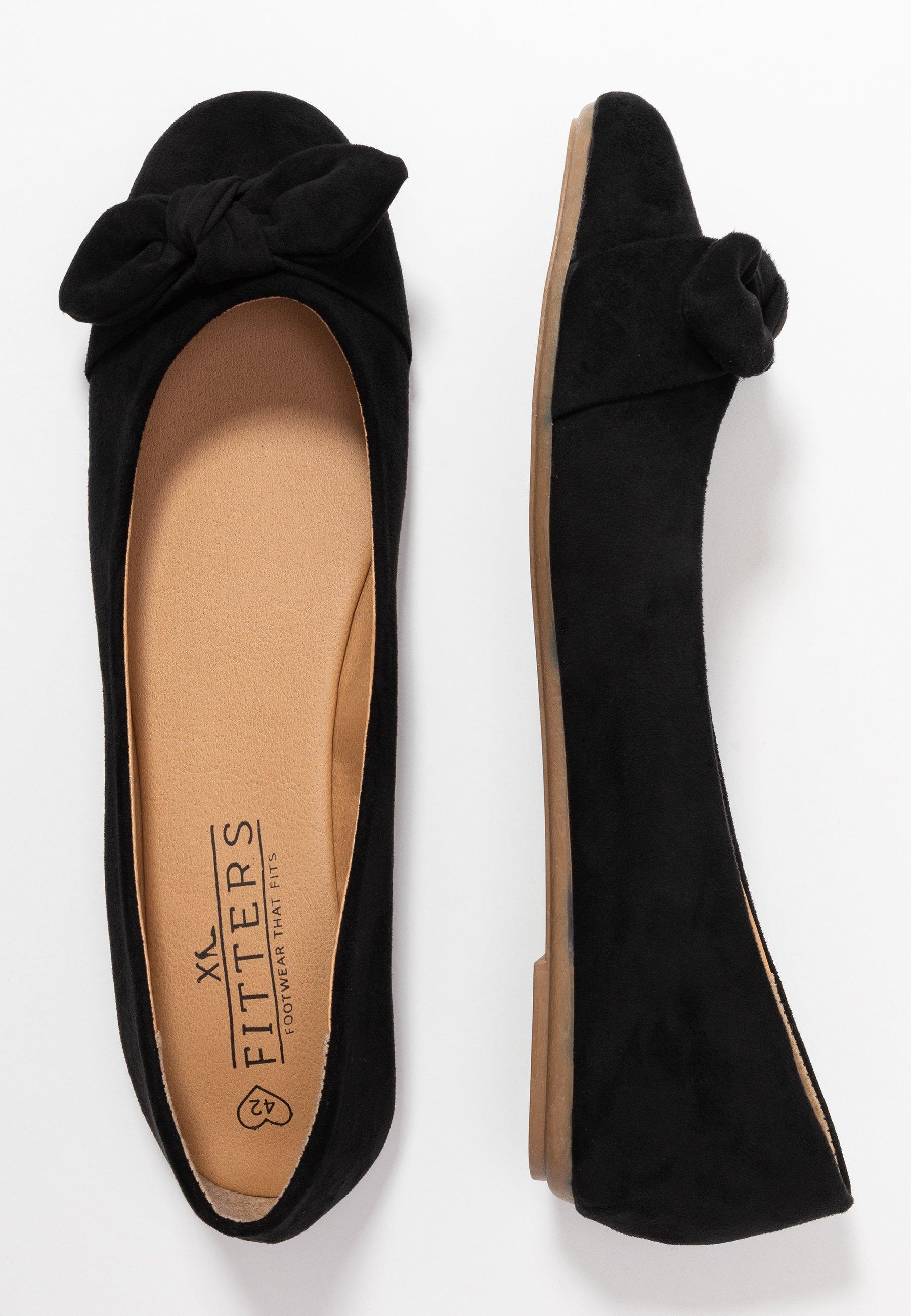Fitters CLAIRE - Ballerinasko - black