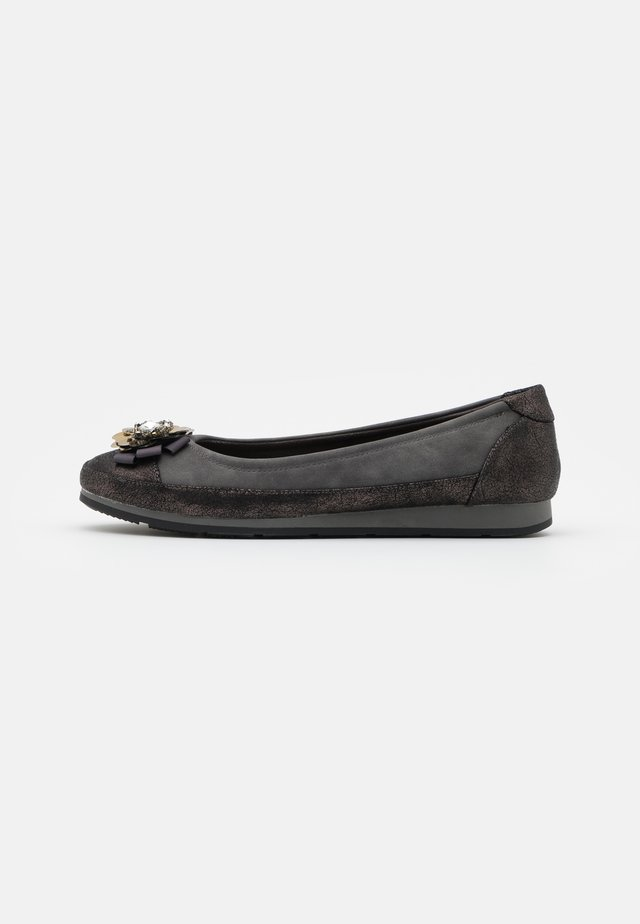 MAGGY - Ballet pumps - grey