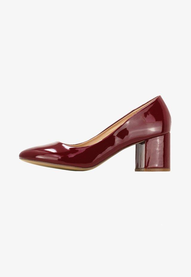SESY - Classic heels - burgundy