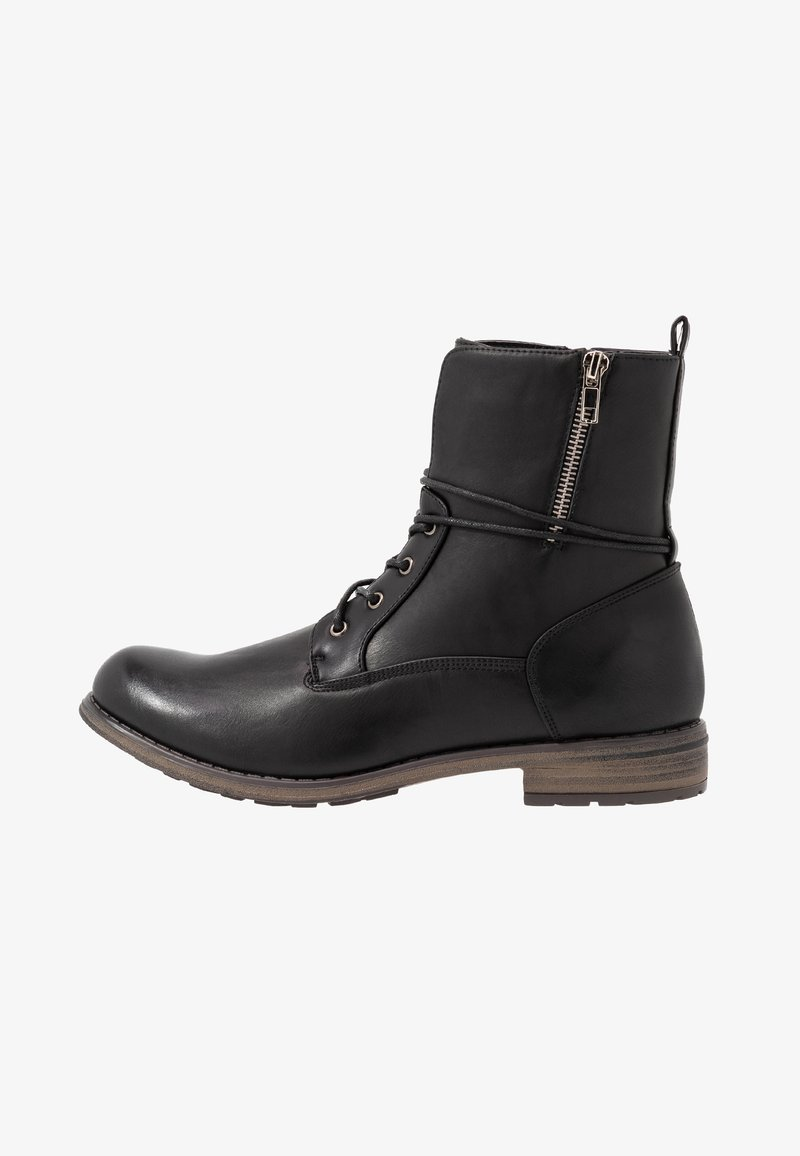 Fitters - VERA - Lace-up ankle boots - schwarz