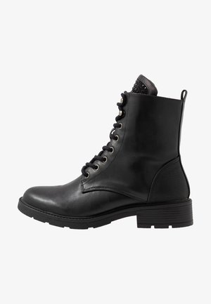 ELENA - Lace-up ankle boots - schwarz